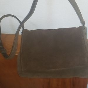 Purse by Andrea Viccaro in Chocolate Brown Suede